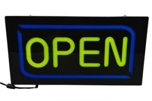 LED Neon Sign Various Styles Open Board Outdoor/Indoor Luminous Sign Board