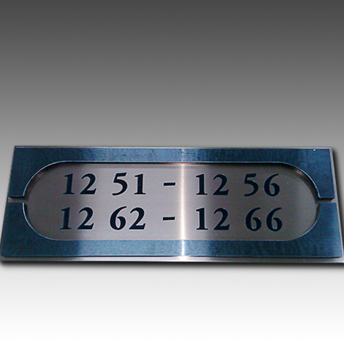 Hotel Directory Guide Door Room Number Sign Doorplates