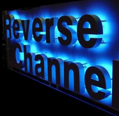 LED Backlit Channel Letter Sign for Salon Shop