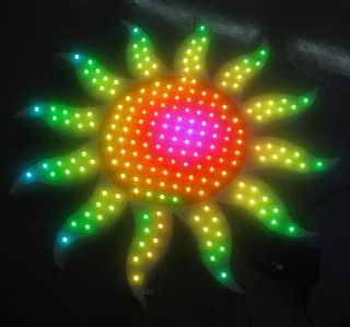 Customize Exposed RGB LED Lighting Open Sign