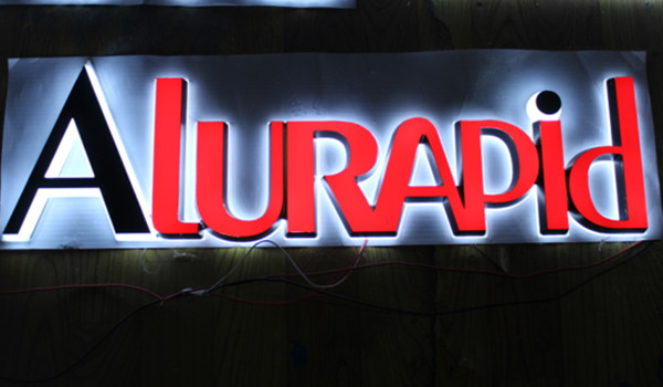 Outdoor Reverse Light 3D Letters Signs