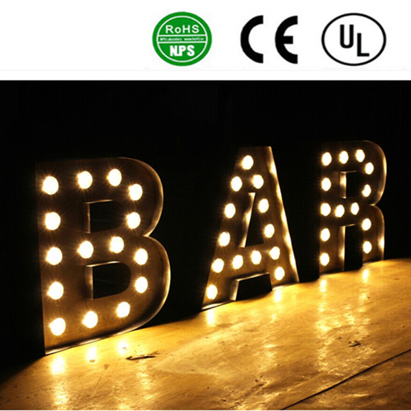 High Quality of RGB LED Exposed Luminous Letter