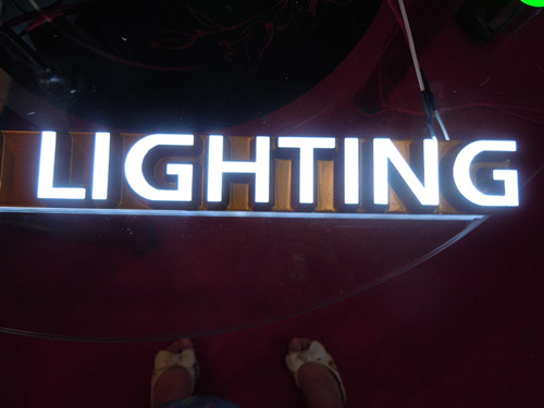 Light up Letter Signs Metal Letters with Lights
