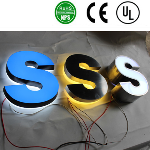 High Quality Led Back Lit Channel Letter Signs Acpsigns