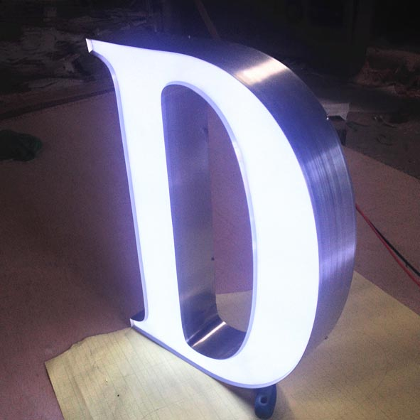 Front Lit Letter Sign And Acrylic Letter Sign Acpsigns