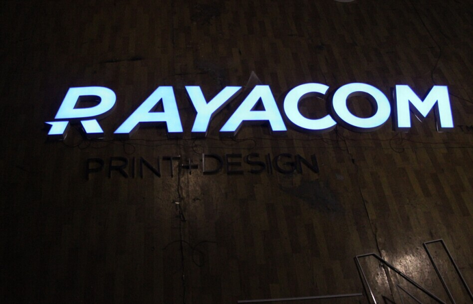 waterproof high technology lighted sign letters light up sign letter illuminated sign letters