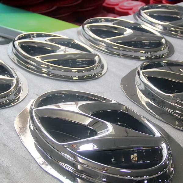 Wholesale ABS Chromed Auto Logo Sign