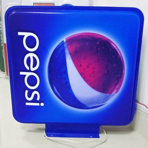 Outdoor Advertising LED Acrylic Silk Screen Printing Light Box for Store