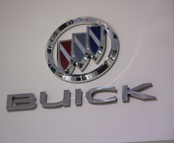 Advertising PETG Electroplated Car Logo and Sign Letters
