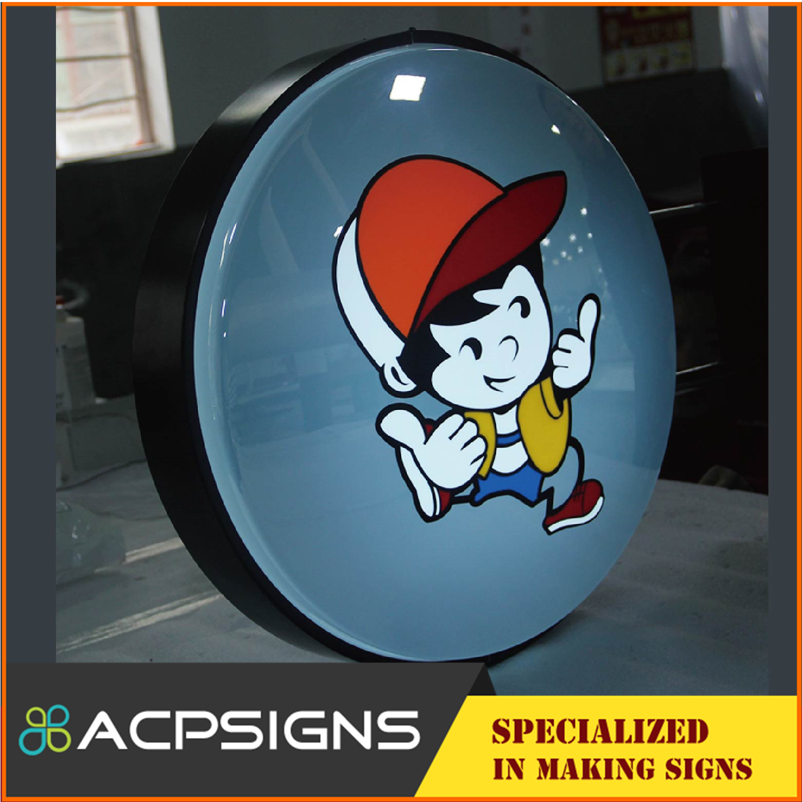 Super Quality Best-Selling Vacuum Forming Acrylic Outdoor Light Box