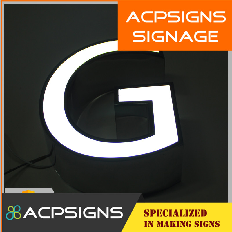 High Quality LED Front Lighting Decorative Letter