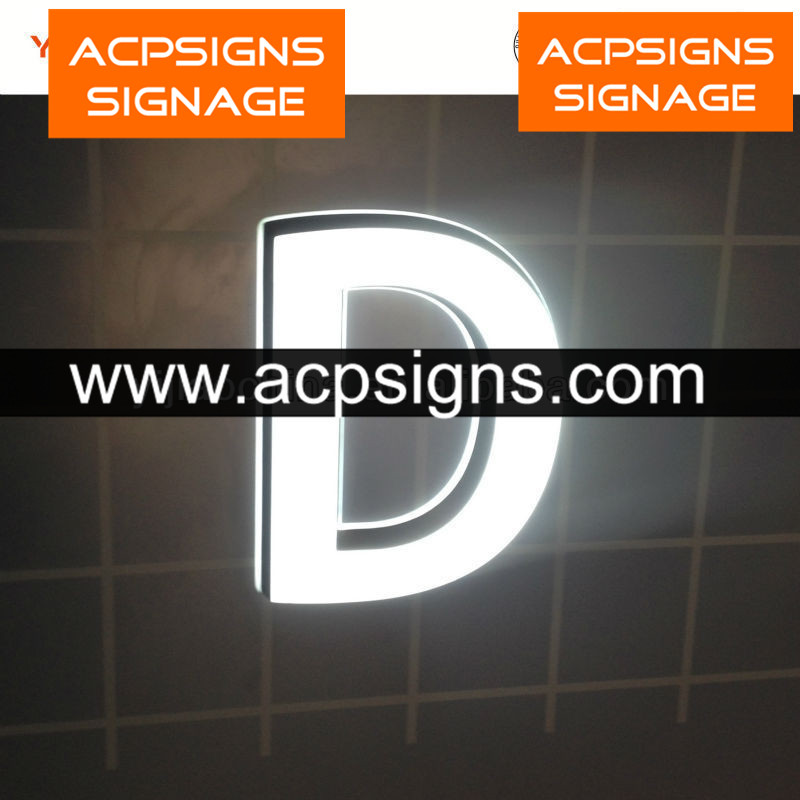 Latest Design Acrylic Mini LED Channel Letter Sign