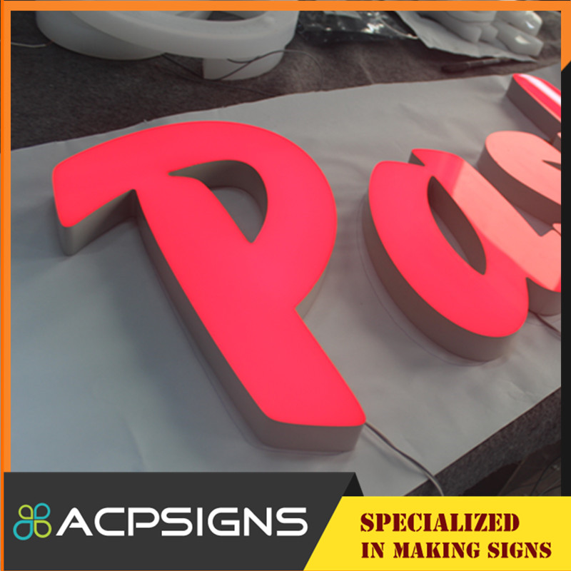 Professional Manufacturer of Illuminated Sign Letters