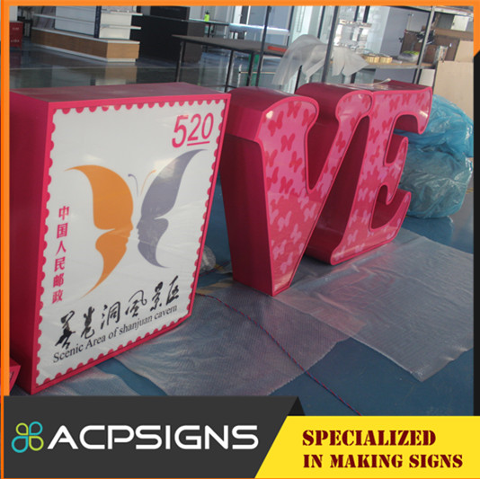 LED Acrylic Front Lit Letter New Style