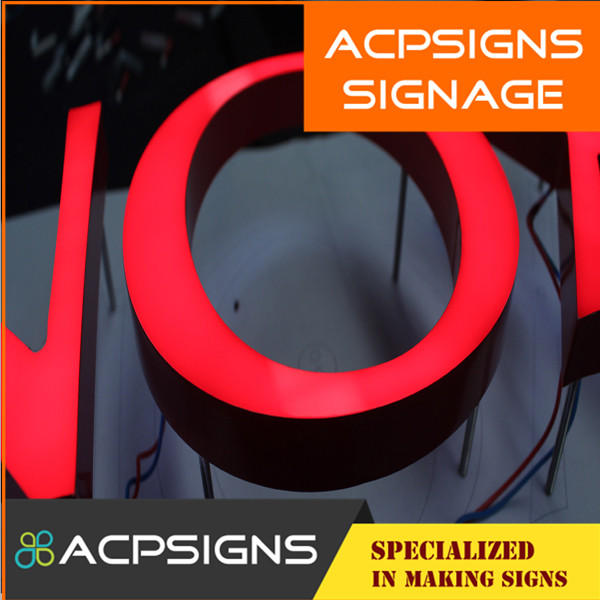 High Quality Laser Cut Acrylic Letters