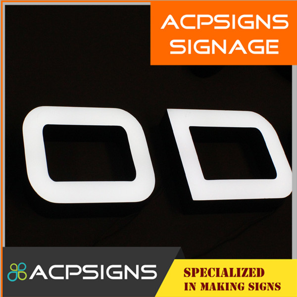 Outdoor PMMA LED Light Letters Sign
