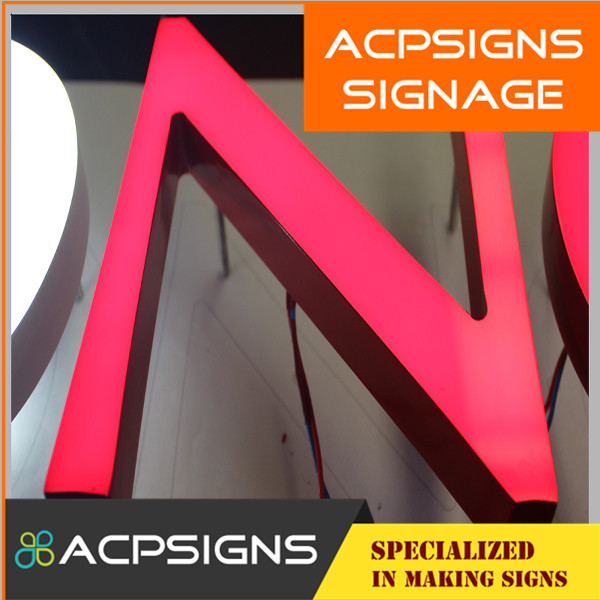 LED Acryl Letter with Fine Welding