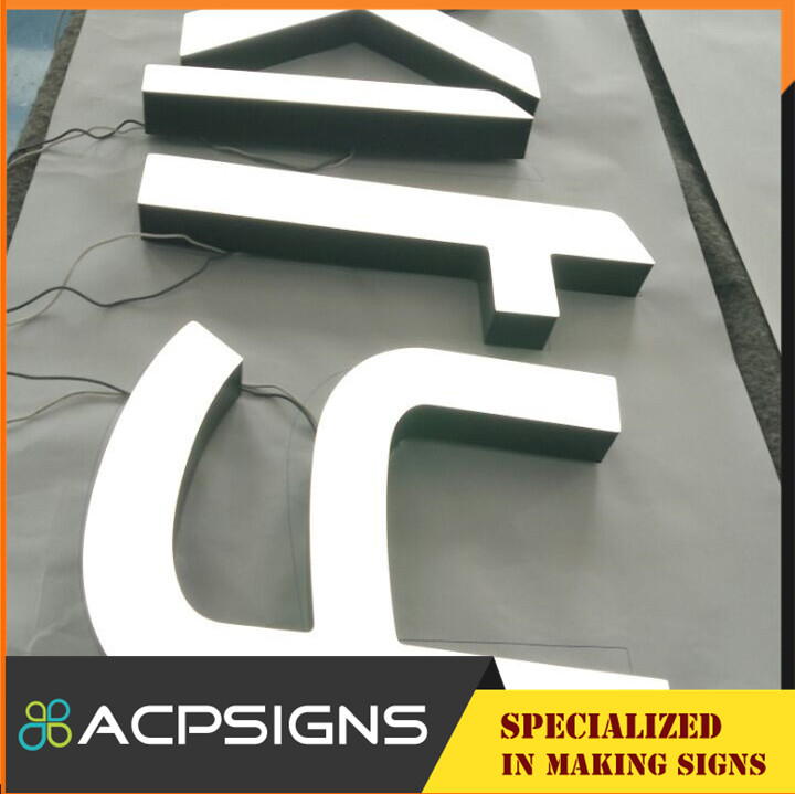 2015 Mini Outdoor Acrylic LED Sign Letter