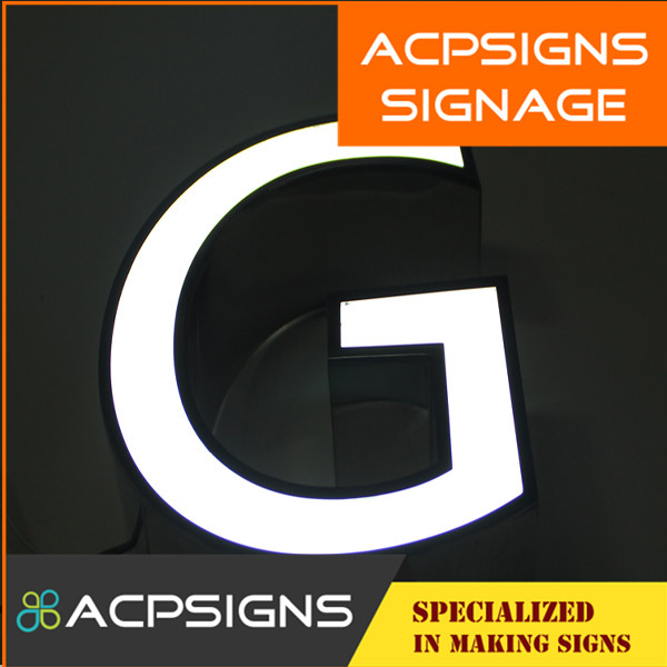 High Quality Stainless Steel LED Front Lit Letter