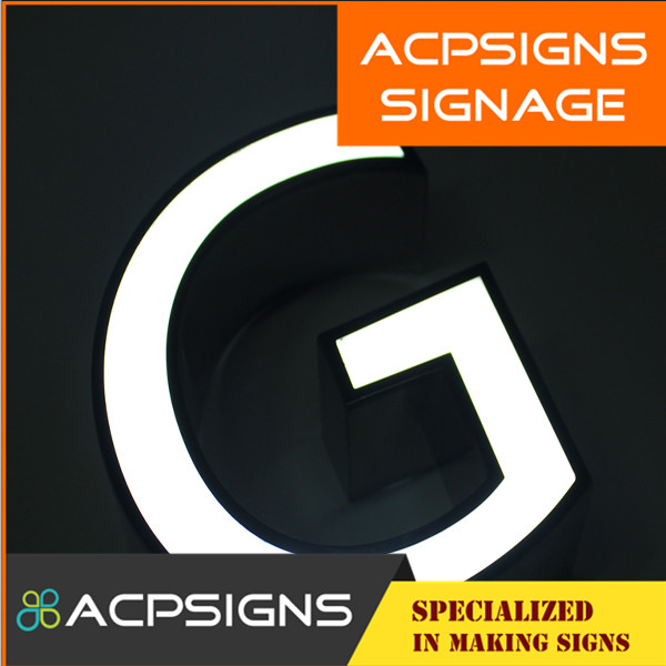High Precision Luminous Lighted Sign Letter