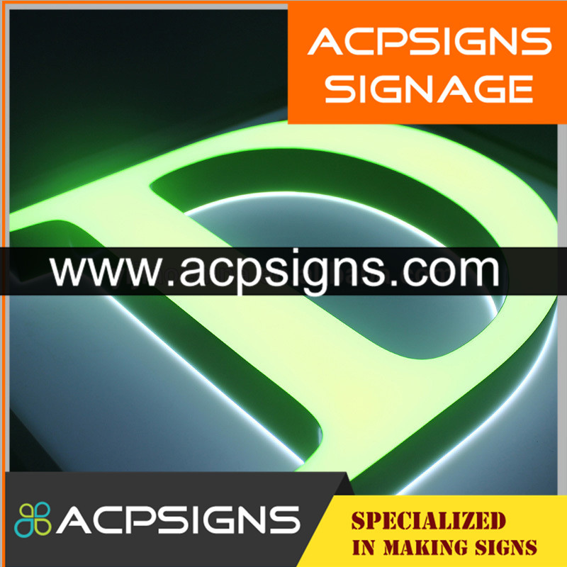 Professional Supplier Acrylic LED Aphabet Letters