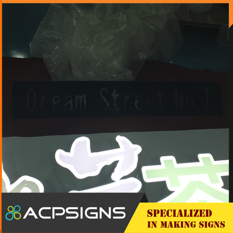 High Quality Face Vhb Outdoor Sign