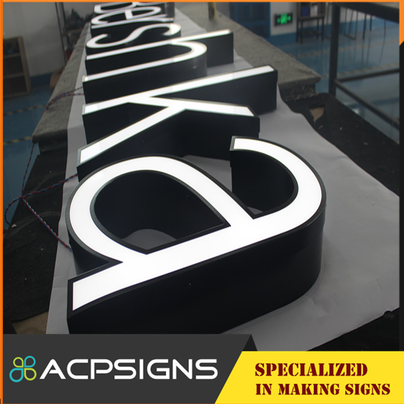Facelit High Luminance Channel Letter with Face Acrylic