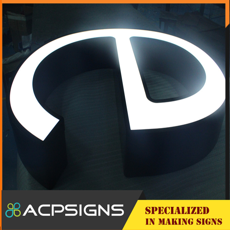 Windproof Decoration Front Lighting Letter