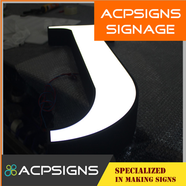 Stainless Steel LED Front Lit Letter Decorative Alphabet Letters