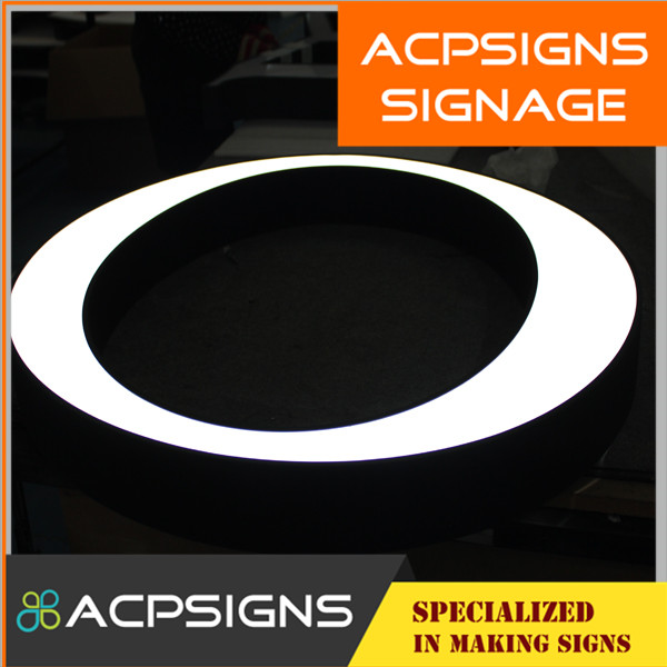 Front Light Alphabet Letter with Strong Advertisement Effect