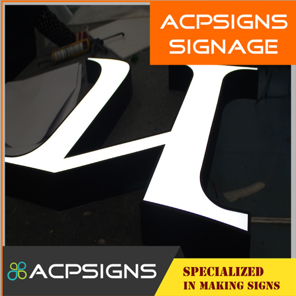 Waterproof Channel Letter with Face Acrylic