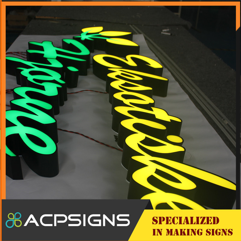 Facelit High Brightness Channel Letter with Face Acrylic