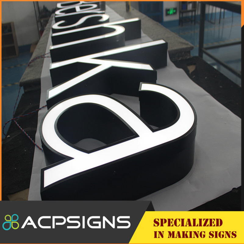 Long Life 3D Market Letters Alphabet to Decorate