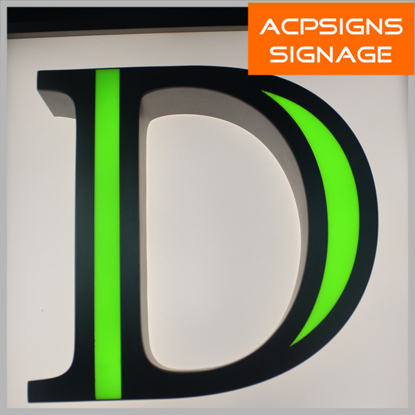 Acrylic Signage Frontlit Letters and Signs