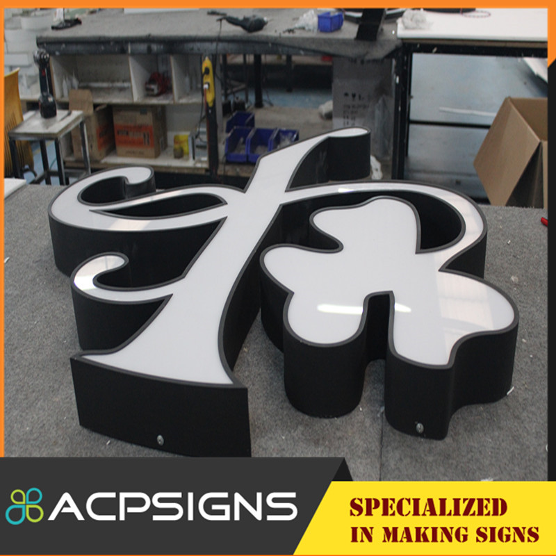 Costomized Different Style Acrylic LED Letter Signs with Frontlit