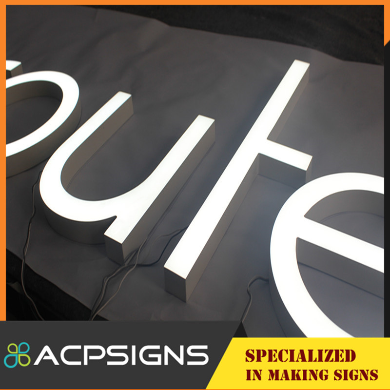 Outdoor Use High Brightness Front Lit Letter and Logo