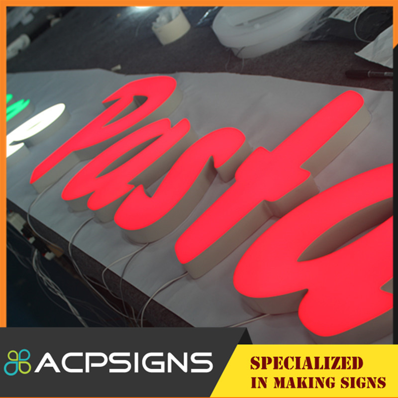 LED Channel Letter Sign on Made in China