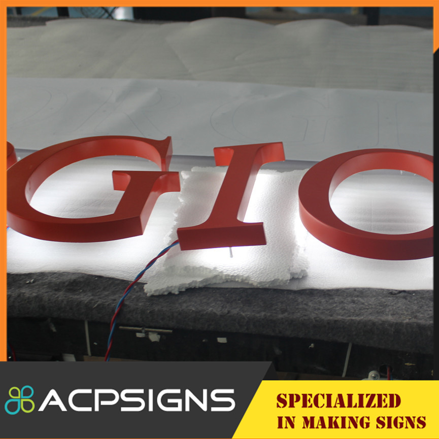 2015 Bright Custom Luminous LED Letter and Sign