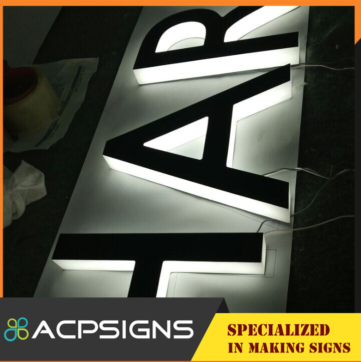 High Luminous Acrylic LED Sign Letter