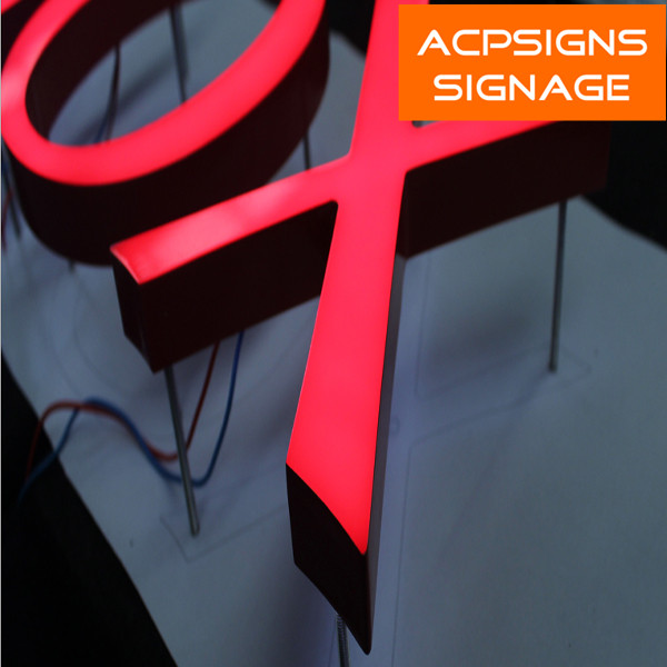 Exquisite and High Luminance Epoxy Resin LED Letters