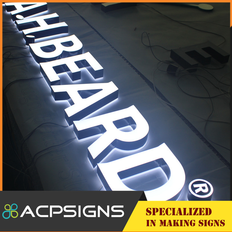 Used Electronic Signs and Acrylic Mini LED Channel Letters