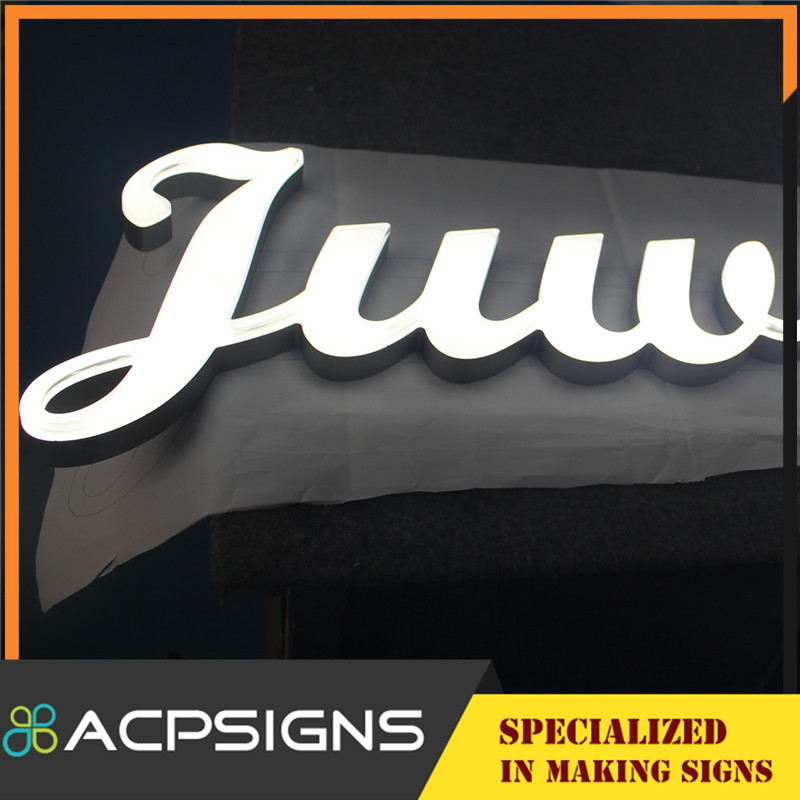 Strong Visual Impact LED Aphabet Letters