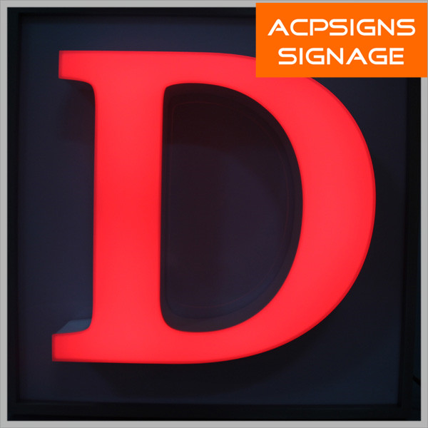Outdoor Waterproof High Brightness Acrylic Signage