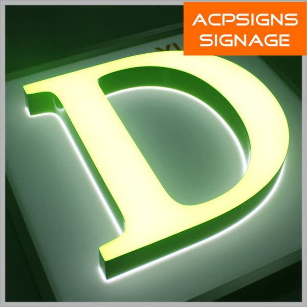 Hot Sale of Acrylic Luminous Characters/Signage/Letter