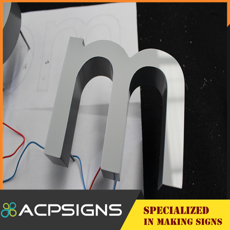 LED Signage Logo Accept Customized