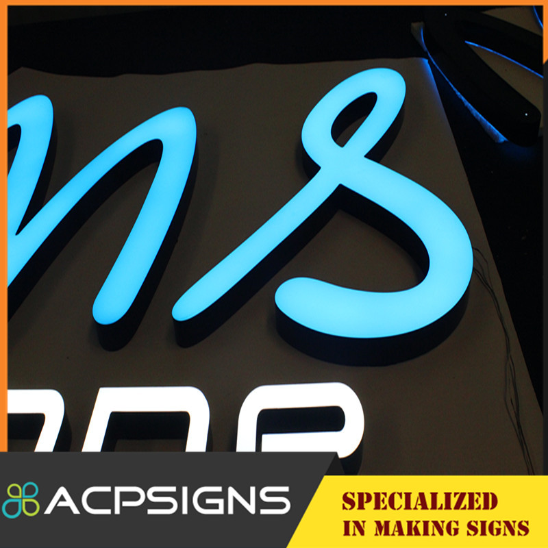 LED Commercial Advertising Letter Signs for Shop