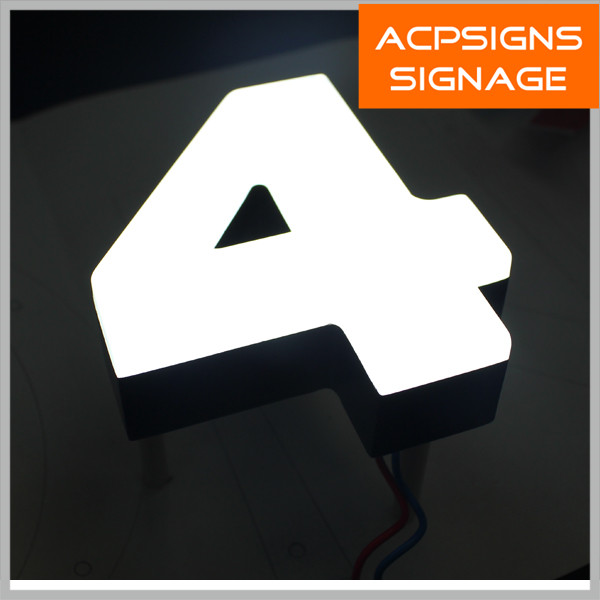 Wall Decorative Acrylic Letter Sign with Bright Lighting