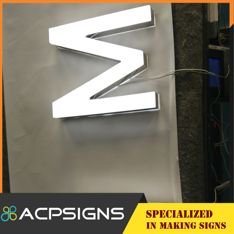 Acrylic LED Channel Letters for Showing Company Image