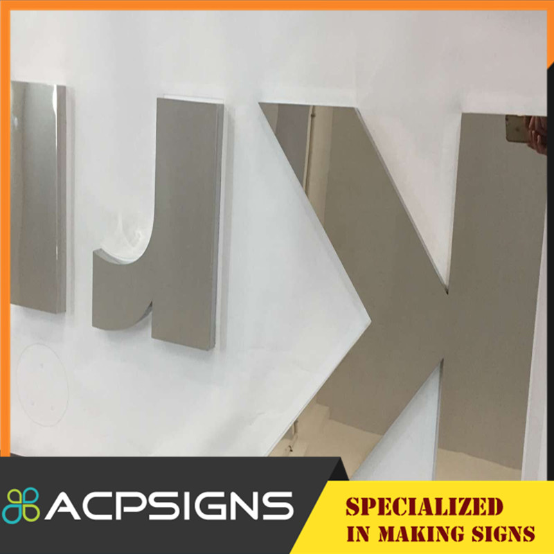 Decorative Wall Metal Letters and Numbers