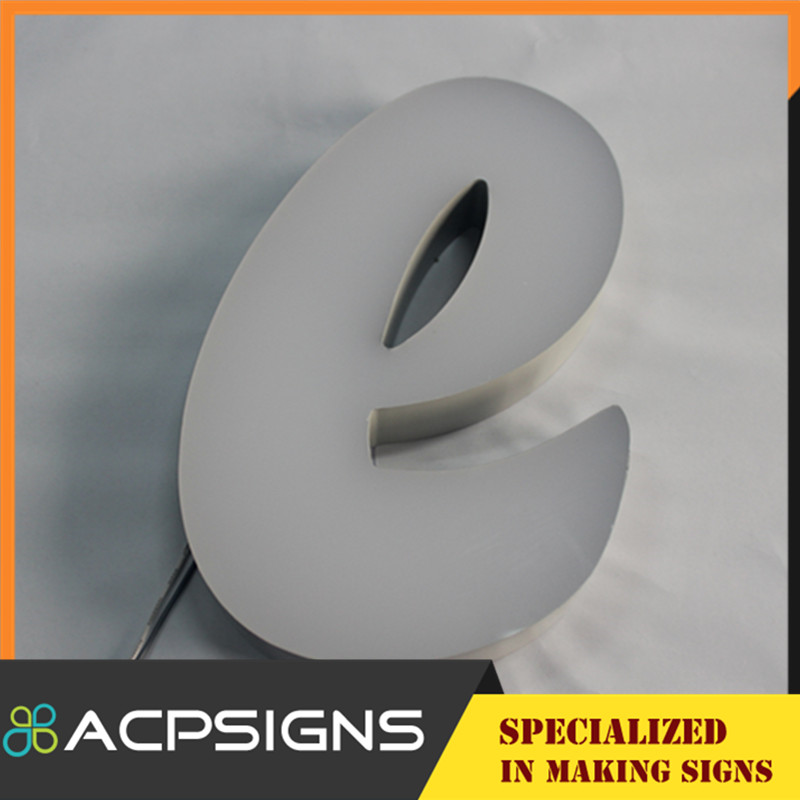 Stainless Steel Customized Shape Channel Letter